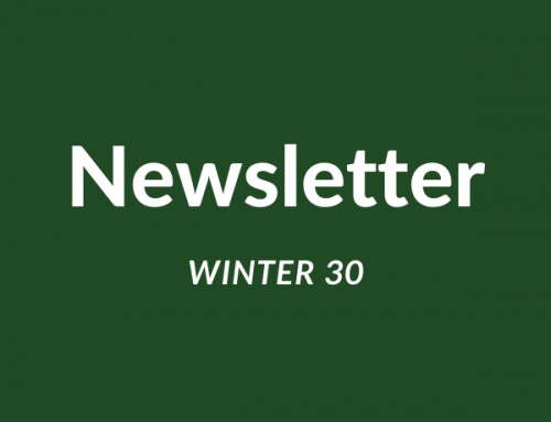 WINTER NEWSLETTER Additional Edition N0.30